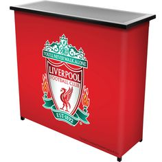 Trademark Premier League Liverpool Football Club Portable Bar with Case