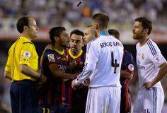 Barcelona 1 x 2 Real Madrid - Copa do Rei - O bebe chorão do Robinho II ( Neymar ), não jogou nada, chorou e tomou cartão amarelo. Real, Campeão da Copa do Rei, 16.04.2014