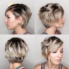 """I got a lot of questions about my hair today so here is a 360 view of it  used a 1"""" curling iron and ADH DRY for texture"""