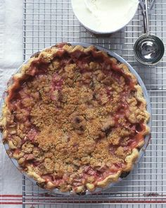 Rhubarb Pie Recipe -- this classic pie recipe will remind your mom of pies her mother used to make.