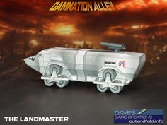 Landmaster Paper Model by Dave Winfield - Dave's Card Creations © www.cutandfold.info
