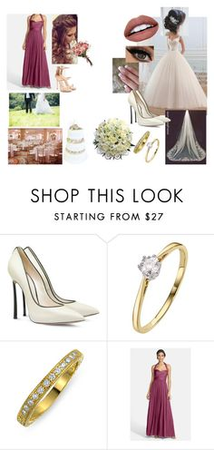 """""""Wedding of Valentine's Day #4"""" by modefan2 on Polyvore featuring beauty, Casadei, Bling Jewelry, NYX and Giuseppe Zanotti"""