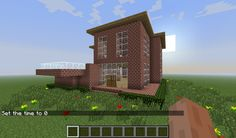 Simple Brick House Minecraft Project