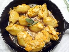 Pumpkin Stuffed Shells - Adapt this for Comfort Food Party