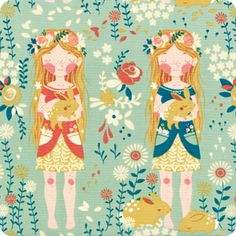 Green Girls | Enchanted Forest Collection | Organic Cotton