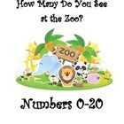 This worksheet requires students to count zoo animals and be able to write the digit that corresponds with number of animals.  Numbers 0-20 are all...
