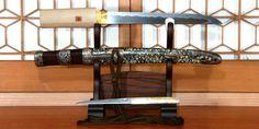 Dagger Yeonsu Kunimunesaku KenIzuru Samesaya ezüst egy munka arany fokozatot nyitó Koshirae különleges értékes kard bizonyítvány különleges értékes kellékek bizonyítvány