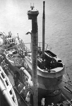 U-889 snorkel drive U-boat | German WW2 submarines BFD