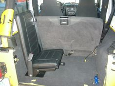 Jump Seat Single For Jeep Wrangler Unlimited X Tj