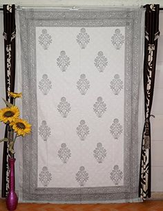 Navya Creations Indian Twin Hanging Tapestry - Floral blo... https://www.amazon.com/dp/B01GOB9DEM/ref=cm_sw_r_pi_dp_x_8KGGybKWXY1E7