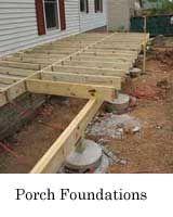porch foundation construction