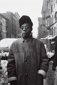 """commiepinkofag: """"James Baldwin in Harlem, in 1963 Photo: Steve Schapiro """" James Baldwin Quotes, Afro, Native Son, James D'arcy, James Arthur, By Any Means Necessary, Black Authors, Portraits, The Orator"""
