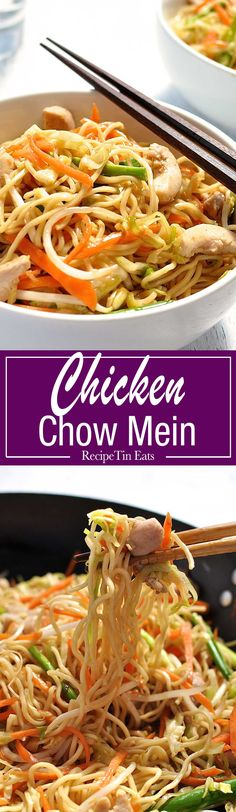I've died and gone to Chow Mein heaven. Honestly almost gave up finding a recipe that really tastes like a restaurant version. THIS IS IT!!!!
