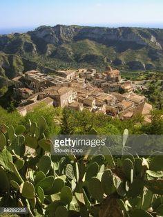 Town of Stilo in Calabria