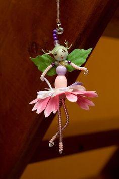 Troc avec Aniélys wooden bead fairie