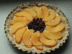 Dietetyczne niebo: Dietetyczna tarta z brzoskwiniami
