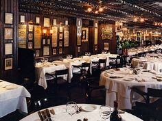 NYC - Keens Steakhouse. The best prime rib ever.