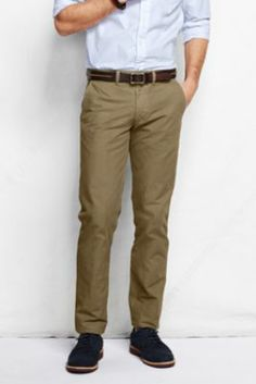 eb793dc0988 Men s Comer 608 Slim Fit Chino from Lands  End Mens Clothing Styles