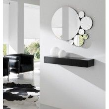 Espejos on pinterest wine hutch mirror and lana de for Espejos redondos modernos