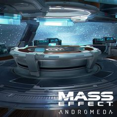 Mass Effect Andromeda concept done for the meeting room in the Tempest. This was done working off of a previous concept by Brian Sum.