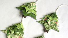 Origami-Weihnachten