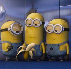 Minions - banana!!