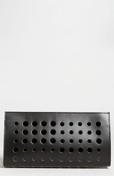 Marni Polka Dot Leather Clutch