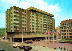 InterContinental Prague Hotel, c. Prague Hotels, Vintage Images, Old Photos, Multi Story Building, Glass, Vintage Pictures, Old Pictures, Drinkware, Vintage Photos