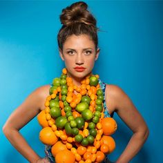This Instagram Star Takes Playing With Food To The Next Level #refinery29  http://www.refinery29.com/laura-miller#slide4  The Superwoman of citrus.