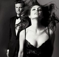 Colin Firth and Julianne Moore by Inez van Lamsweerde & Vinoodh Matadin, 2009.