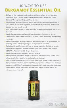 10 Ways to Use Bergamot Essential Oil