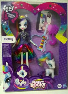 MY LITTLE PONY Equestria Girls RAINBOW ROCKS Rarity Action Figure NEW | eBay