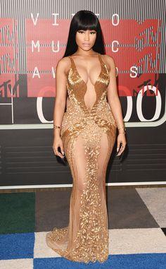 Nicki Minaj from 2015 MTV Video Music Awards Red Carpet Arrivals   E! Online