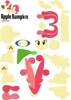 Apple Bumpkin PaperCraft by oskarek11.deviantart.com on @deviantART