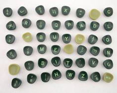 Check out Set of 48 Vintage Typewriter Keys, Plastic Keys, Letters, Numbers, Craft, Jewelry, Steampunk, Green L2 on vintagecornerbazaar