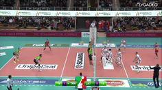 Trento - Latina, Highlights, 3:1 (25-21, 25-19, 19-25, 25-20), Season 20...