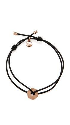 Rose Gold Marc by Marc Jacobs Key Items Friendship Bracelet