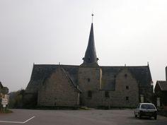 La chapelle Saint-Jean-Baptiste de Lantierne.  Arzal.  Morbihan. Brittany