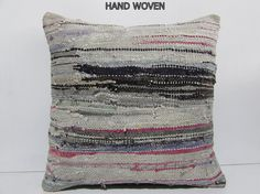 pink boho cushion cover 24x24 DECOLIC big pillow case large couch