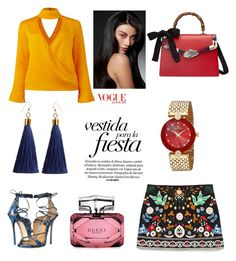 """""""В огороде покопаться"""" by yana-miroshkina on Polyvore featuring Dsquared2, Gucci and Conflict of Ego"""