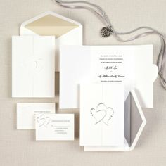 Invitations by Exclusively Weddings Wedding Invitations Photos on WeddingWire