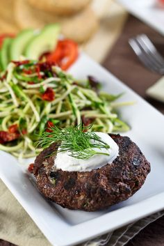 Venison Burger by The Healthy Foodie    http://thehealthyfoodie.com/2012/09/16/venison-burger/#