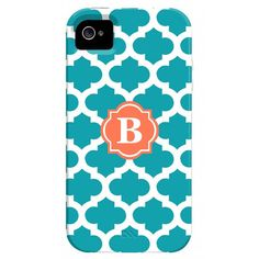 I pinned this Trellis iPhone 4 Case in Turquoise from the Happy Habitat event at Joss and Main!