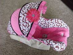 Custom Hello Kitty Car Seat Cover by BabyBelovedBoutique on Etsy, $94.00