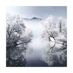 winterfoto's waarin ook de tijd bevroren lijjkt te zijn