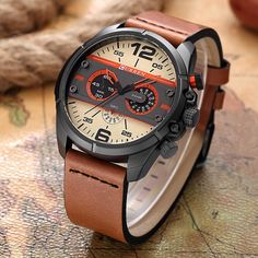Item Type: Quartz Wristwatches Brand Name: CURREN Water Resistance Depth: 3Bar Case Shape: Round Band Material Type: Leather Feature: Water Resistant,Shock Resistant Style: Fashion & Casual Dial Diameter: 48mm Case Thickness: 13mm Clasp Type: Buckle Case Material: Alloy Movement: Quartz Model Number: erkek saat erkekler Band Width: 22mm Dial Window Material Type: Glass Band Length: 24cm watches: sport quartz watch Name: CURREN Watch Men Style 1: watches men sports watches relogio xfcs Style…