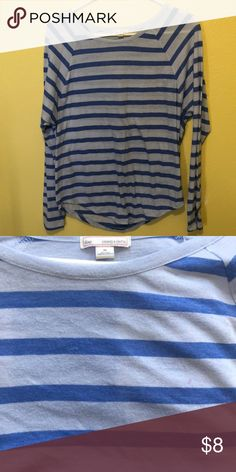 9c186694ac95 Top - GAP - M Long sleeved Gap shirt. Blue and light blue stripes.