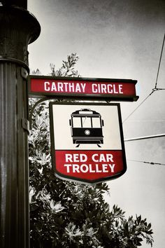 Red Car Trolley stop