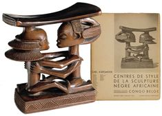 Luba-Shankadi Headrest, Democratic Republic of the Congo Acquired in 1936 The Carl and Amalie Kjersmeier Collection The National Museum of Denmark, Copenhagen