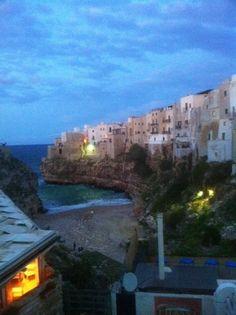 Polignano al Mare, Puglia, evening